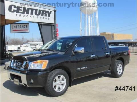 2010 Nissan Titan for sale at CENTURY TRUCKS & VANS in Grand Prairie TX