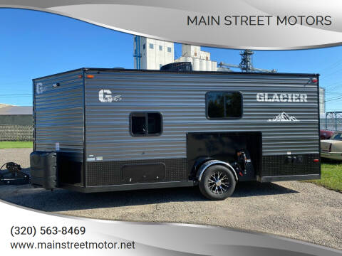 2022 Glacier A16RD for sale at Main Street Motors in Wheaton MN