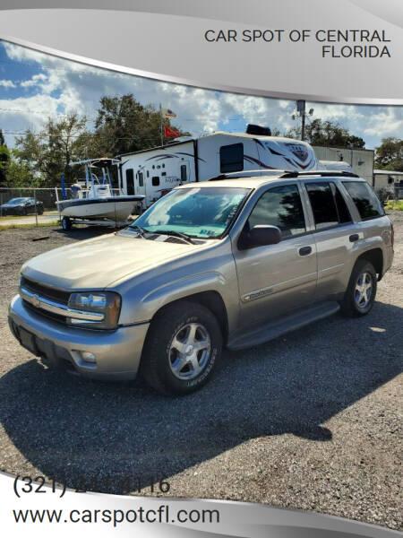 2003 Chevrolet TrailBlazer for sale at Car Spot Of Central Florida in Melbourne FL