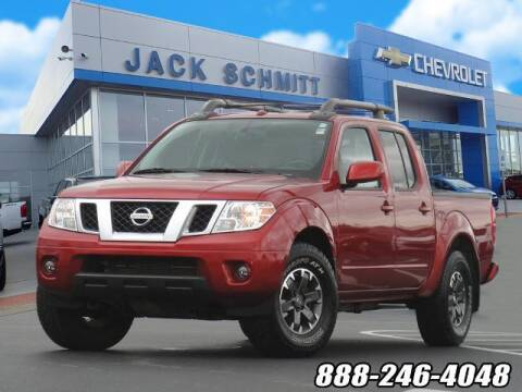 2017 Nissan Frontier for sale at Jack Schmitt Chevrolet Wood River in Wood River IL