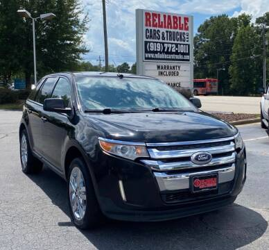 2011 Ford Edge for sale at Reliable Cars & Trucks LLC in Raleigh NC