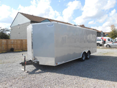 2021 Continental Cargo V-Series 8.5x20 for sale at Jerry Moody Auto Mart - Trailers in Jeffersontown KY