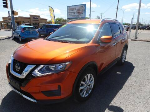 2019 Nissan Rogue for sale at AUGE'S SALES AND SERVICE in Belen NM
