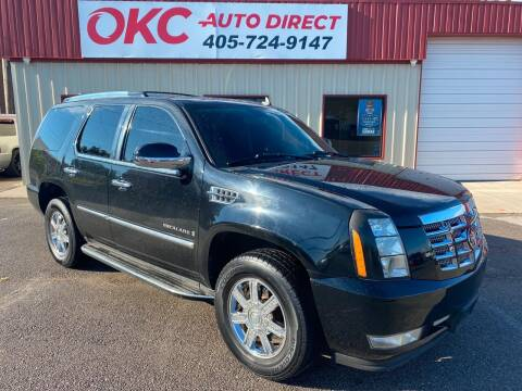 2008 Cadillac Escalade for sale at OKC Auto Direct in Oklahoma City OK
