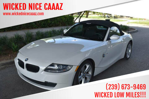 2006 BMW Z4 for sale at WICKED NICE CAAAZ in Cape Coral FL