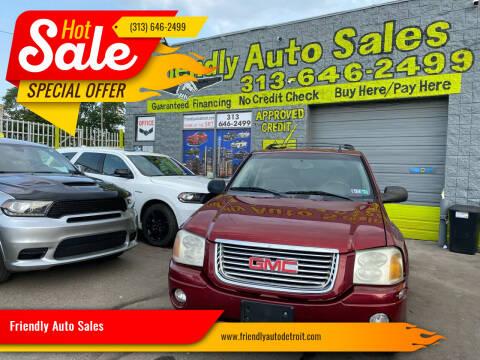 2006 GMC Envoy for sale at Friendly Auto Sales in Detroit MI