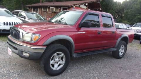 2002 Toyota Tacoma for sale at Select Cars Of Thornburg in Fredericksburg VA