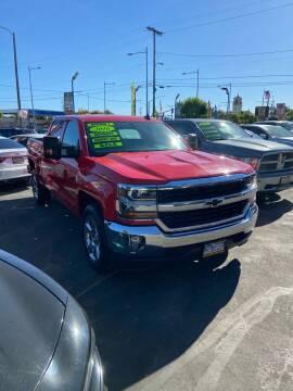 2016 Chevrolet Silverado 1500 for sale at LA PLAYITA AUTO SALES INC - 3271 E. Firestone Blvd Lot in South Gate CA
