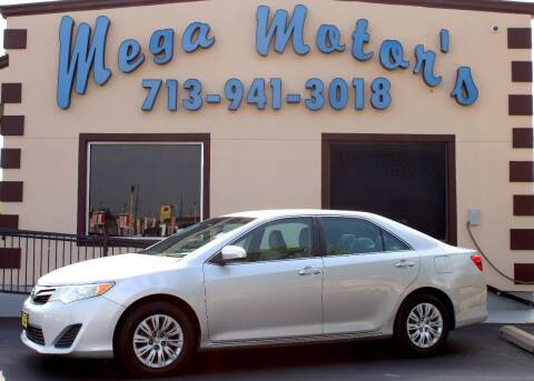 2014 Toyota Camry for sale at MEGA MOTORS in South Houston TX