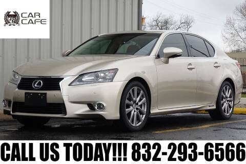 2013 Lexus GS 450h for sale at CAR CAFE LLC in Houston TX