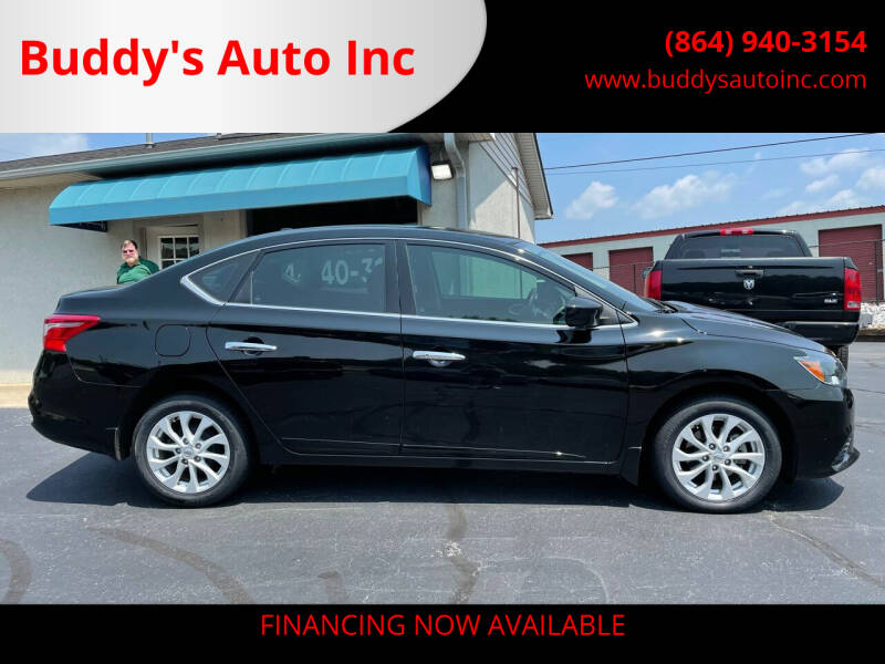2019 Nissan Sentra for sale at Buddy's Auto Inc in Pendleton, SC