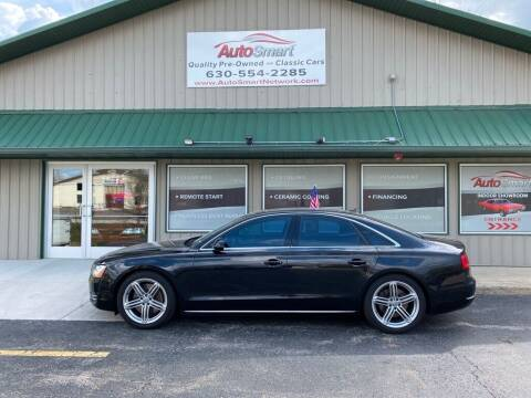2011 Audi A8 for sale at AutoSmart in Oswego IL