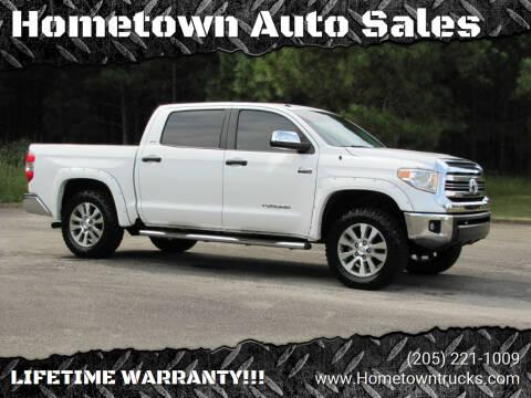 2016 Toyota Tundra for sale at Hometown Auto Sales - Trucks in Jasper AL