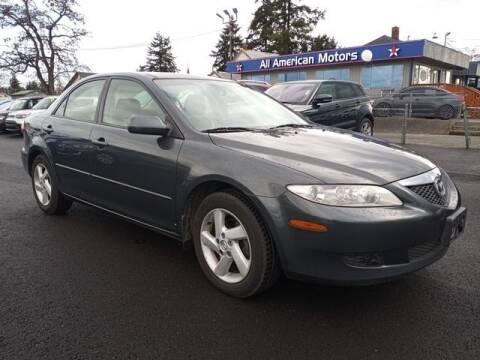 2003 Mazda MAZDA6 for sale at All American Motors in Tacoma WA