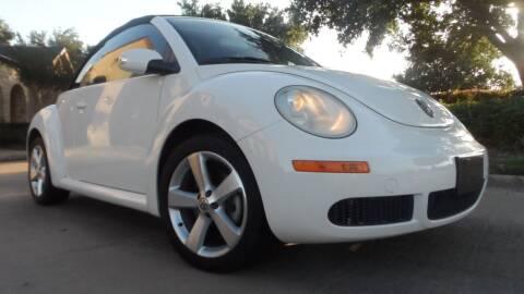 2007 Volkswagen New Beetle for sale at Exhibit Sport Motors in Houston TX