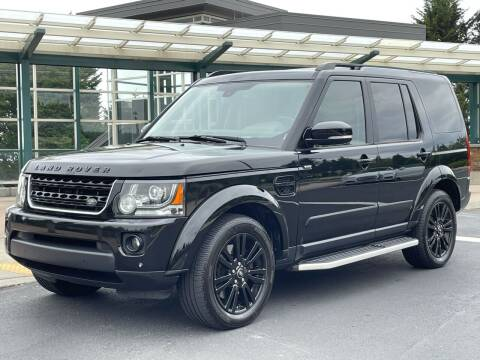 2015 Land Rover LR4 for sale at GO AUTO BROKERS in Bellevue WA