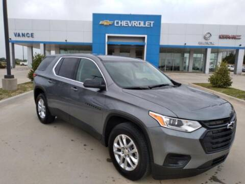 2021 Chevrolet Traverse for sale at Vance Fleet Services in Guthrie OK