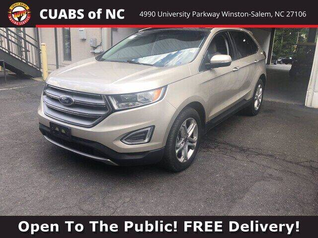 2017 Ford Edge for sale at Summit Credit Union Auto Buying Service in Winston Salem NC
