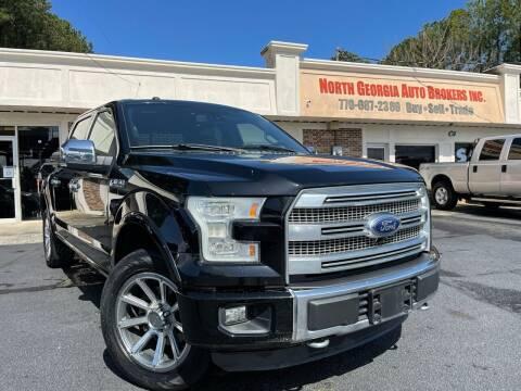 2016 Ford F-150 for sale at North Georgia Auto Brokers in Snellville GA