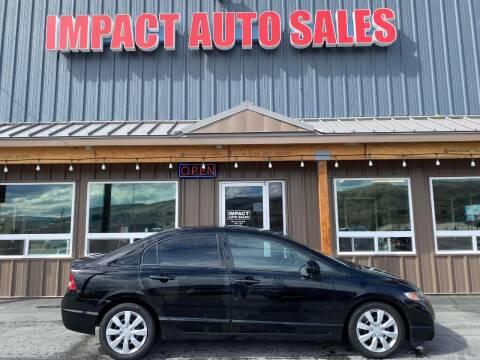 2011 Honda Civic for sale at Impact Auto Sales in Wenatchee WA