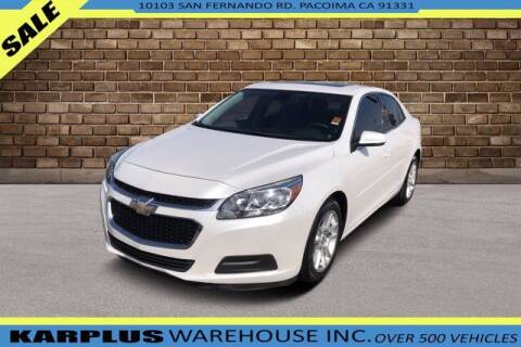 2015 Chevrolet Malibu for sale at Karplus Warehouse in Pacoima CA