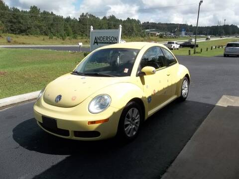 2009 Volkswagen New Beetle for sale at Anderson Wholesale Auto in Warrenville SC