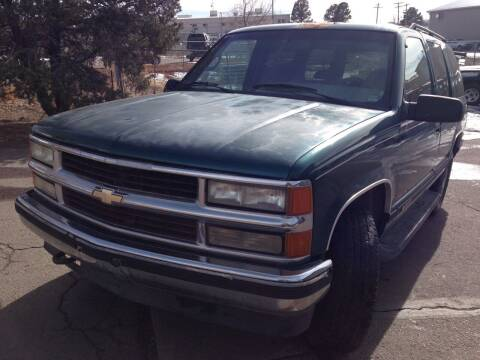 1995 Chevrolet Tahoe for sale at Cherry Motors in Castle Rock CO