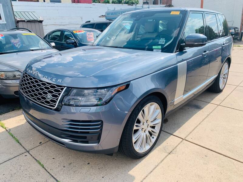 2019 Land Rover Range Rover for sale at K J AUTO SALES in Philadelphia PA