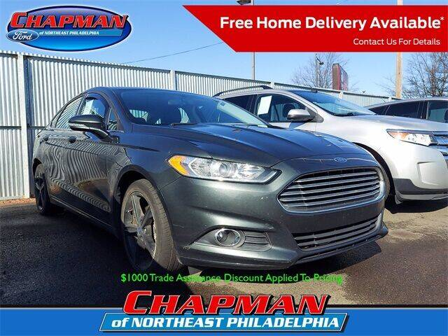 2016 Ford Fusion for sale at CHAPMAN FORD NORTHEAST PHILADELPHIA in Philadelphia PA