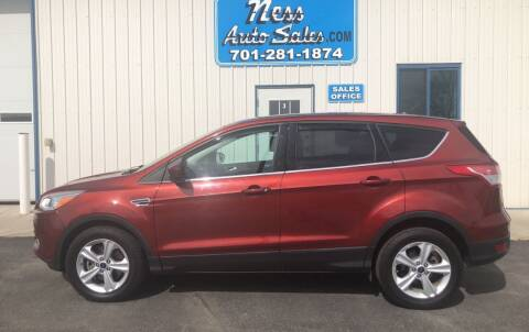 2015 Ford Escape for sale at NESS AUTO SALES in West Fargo ND