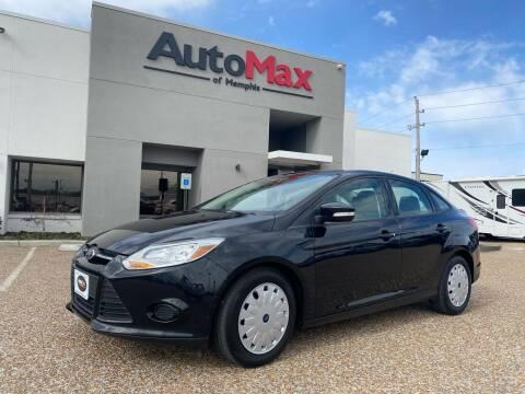 2013 Ford Focus for sale at AutoMax of Memphis - Alex Vivas in Memphis TN