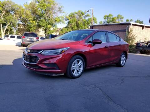 2017 Chevrolet Cruze for sale at KHAN'S AUTO LLC in Worland WY
