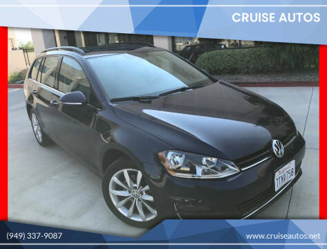 2017 Volkswagen Golf SportWagen for sale at Cruise Autos in Corona CA