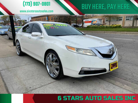 2009 Acura TL for sale at 6 STARS AUTO SALES INC in Chicago IL