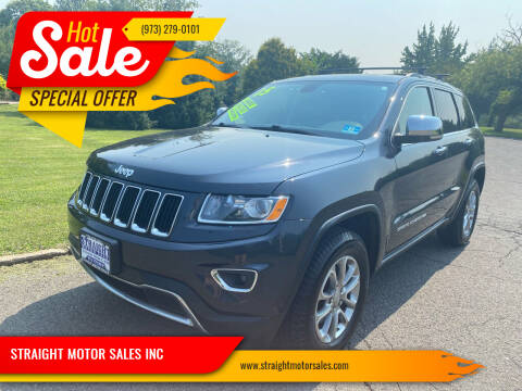 2015 Jeep Grand Cherokee for sale at STRAIGHT MOTOR SALES INC in Paterson NJ