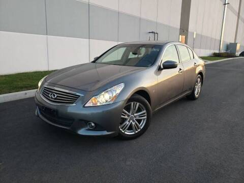 2015 Infiniti Q40 for sale at Millennium Auto Group in Lodi NJ