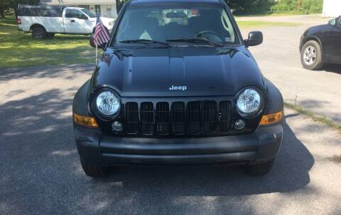 2006 Jeep Liberty for sale at K B Motors in Clearfield PA