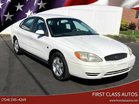 2001 Ford Taurus for sale at First Class Autos in Maiden NC