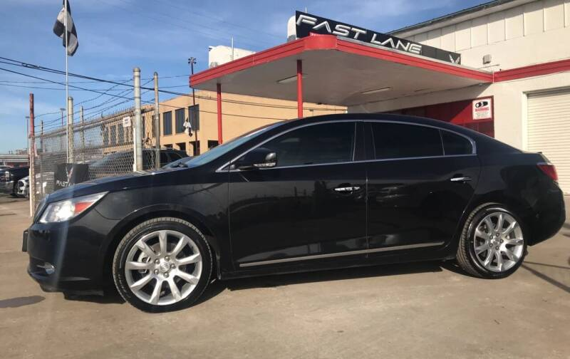 2012 Buick LaCrosse for sale at FAST LANE AUTO SALES in San Antonio TX