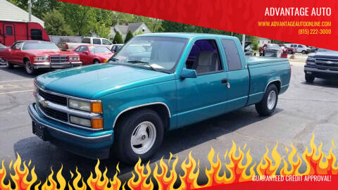 1994 Chevrolet C/K 1500 Series for sale at Advantage Auto Sales & Imports Inc in Loves Park IL