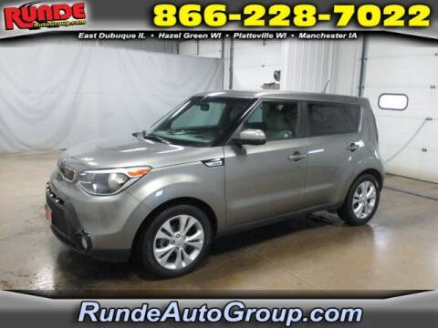 2016 Kia Soul for sale at Runde Chevrolet in East Dubuque IL