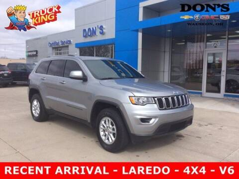 2018 Jeep Grand Cherokee for sale at DON'S CHEVY, BUICK-GMC & CADILLAC in Wauseon OH