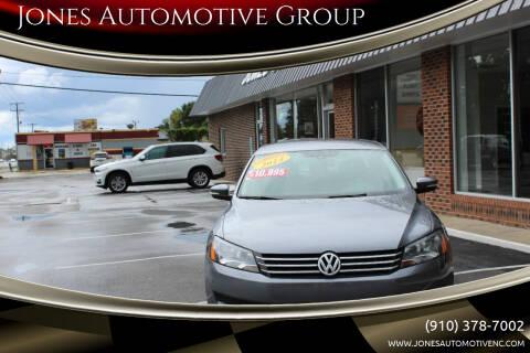 2014 Volkswagen Passat for sale at Jones Automotive Group in Jacksonville NC