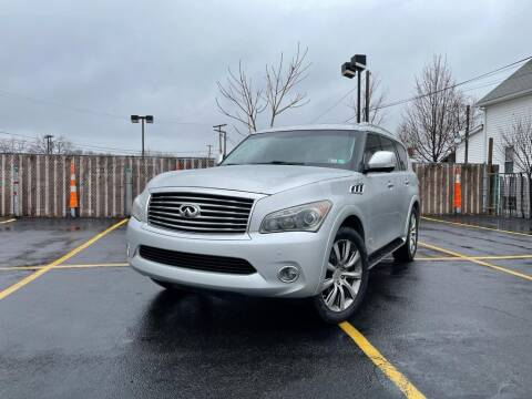 2012 Infiniti QX56 for sale at True Automotive in Cleveland OH