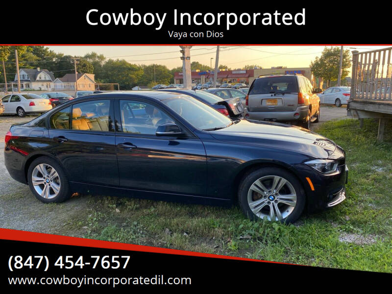 2016 BMW 3 Series for sale at Cowboy Incorporated in Waukegan IL
