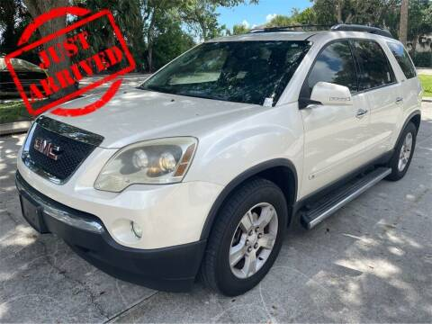 2009 GMC Acadia for sale at Florida Fine Cars - West Palm Beach in West Palm Beach FL
