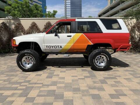 1987 Toyota 4Runner for sale at Classic Car Deals in Cadillac MI