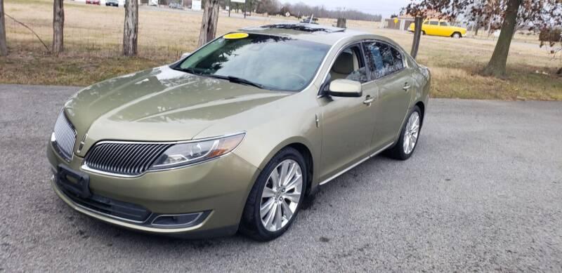 2013 Lincoln MKS for sale at Elite Auto Sales in Herrin IL