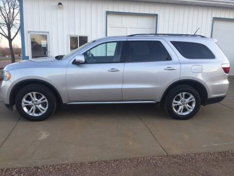 2012 Dodge Durango for sale at Bauman Auto Center in Sioux Falls SD