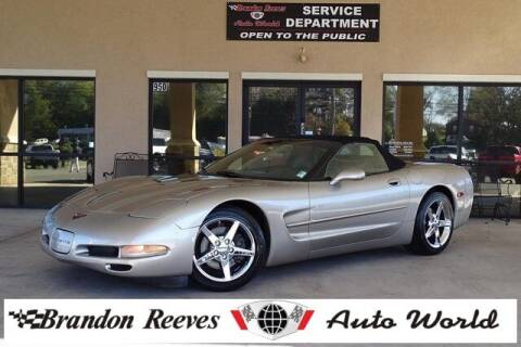 2000 Chevrolet Corvette for sale at Brandon Reeves Auto World in Monroe NC
